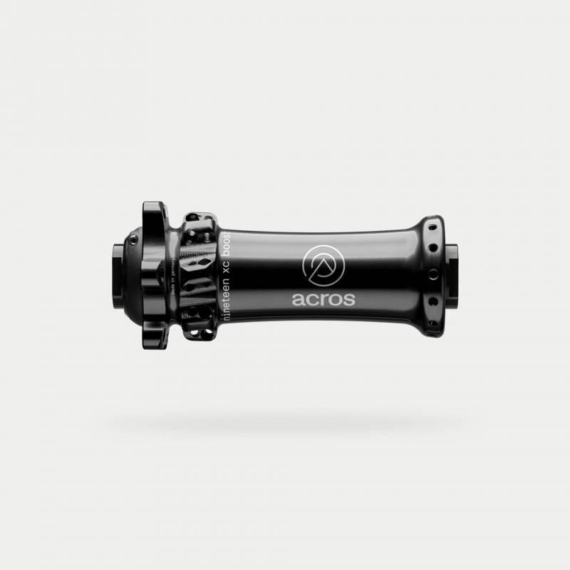 xc-boost-vorderrad-nabe, schwarz, 28