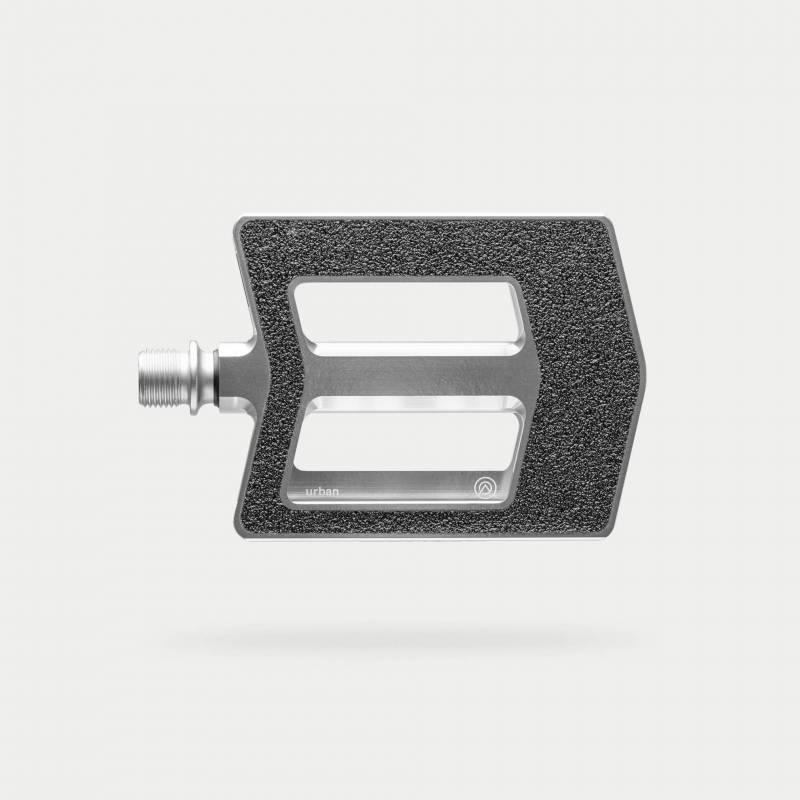 urban-pedal, silber